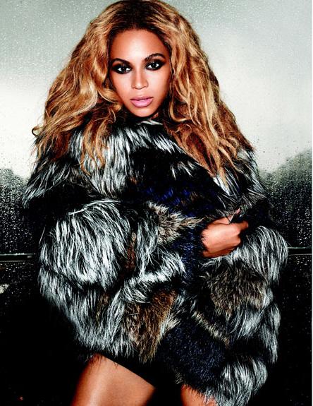 Beyonce fur