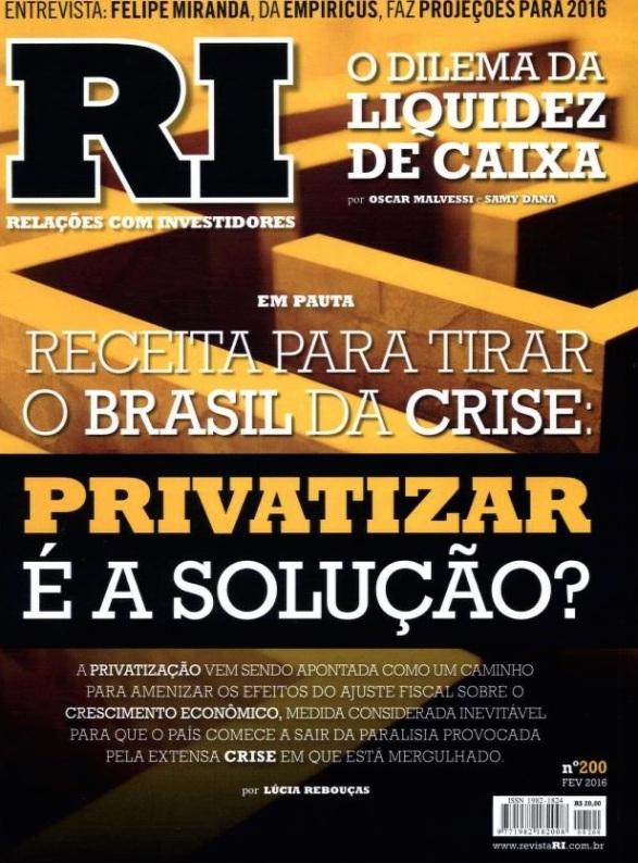 Capa Revista RI
